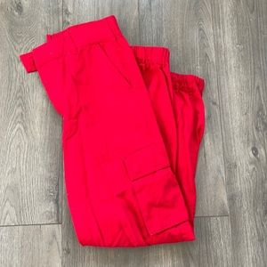 Small Forever21 Red joggers